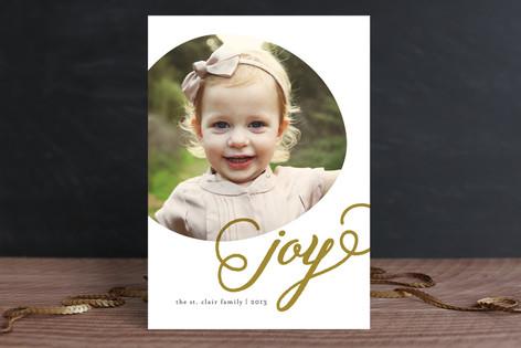 Joyous Circle Christmas Photo Cards