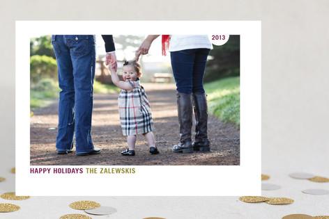 Simply Nice Christmas Photo Cards