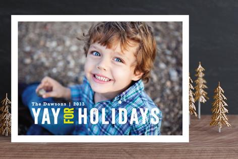 YAY for Christmas Christmas Photo Cards