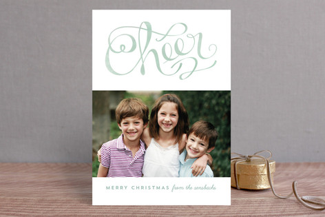 Cheer Christmas Photo Cards