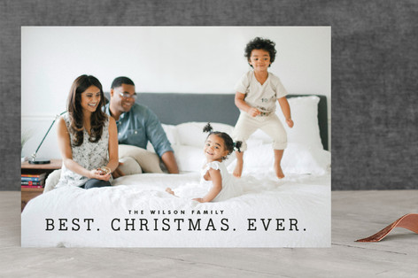Best Year Ever Christmas Photo Cards
