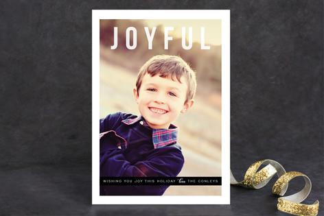 Joyfully Simple Christmas Photo Cards