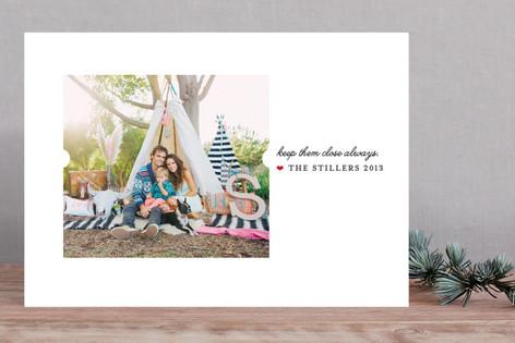 Keep Them Close Christmas Photo Cards