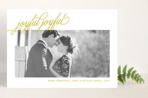 Joyful Joyful Christmas Photo Cards