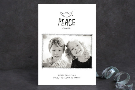 The Little Dove Christmas Photo Cards