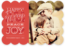 Happy merry peace joy