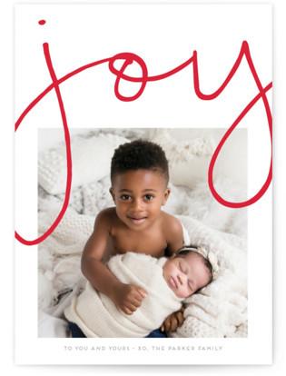 More Joy Christmas Photo Cards