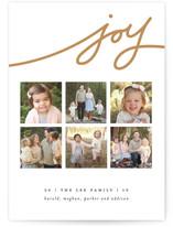 Wispy Joy Christmas Photo Cards
