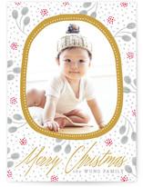 Gilded Holiday Frame by Yolanda Mariak Chendak