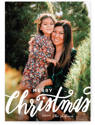 Scripted Christmas Christmas Photo Cards