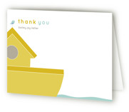 Noah Baptism and Christening Thank You Cards