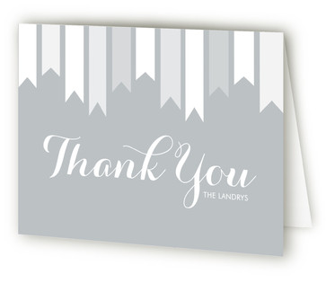 Bookmark Baptism and Christening Thank You Cards