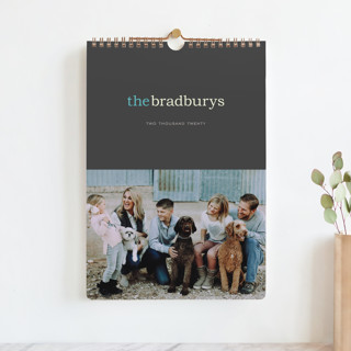 Pop of Color Standard Calendars