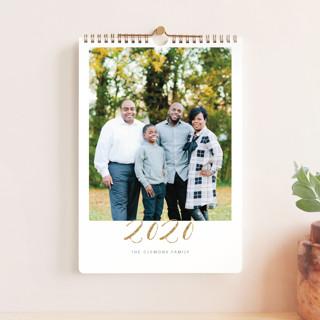 Elegant Golden Year Standard Calendars