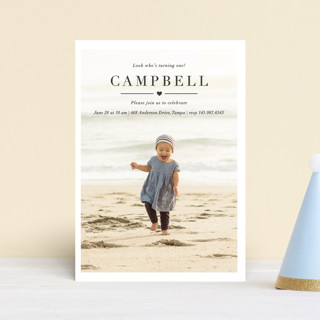 Lovely Children's Birthday Party Postcards