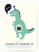 Cakeasaurus Dinosaur Children's Birthday Party Postcards