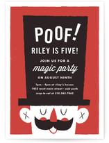 Poof Birthday Magic by Carmi Cioni