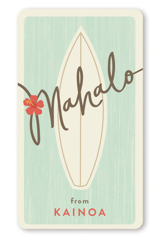 Surf Mahalo Custom Stickers
