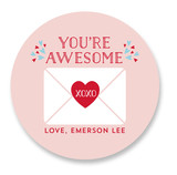Valentine You Are Aweso... by curiouszhi design