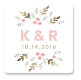 Flower Garden Custom Stickers