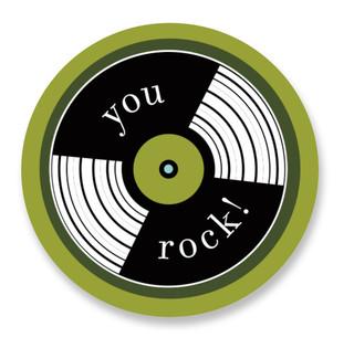 Rock n Roll Custom Stickers