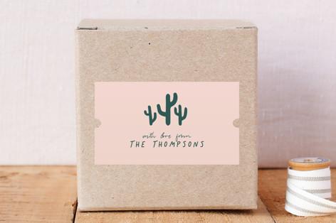 mini cacti Custom Stickers