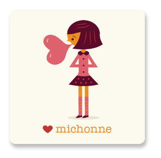 Be Mine Bubblegum Custom Stickers