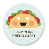 Taco 'Bout Awesome Custom Stickers