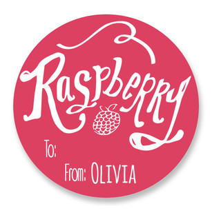 Raspberry Custom Stickers