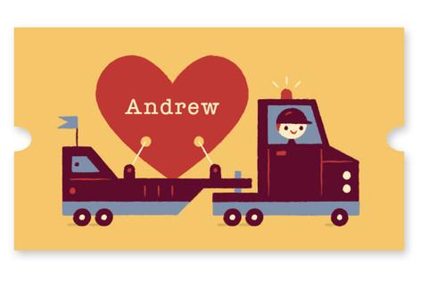 Big Heart Truckin' Custom Stickers