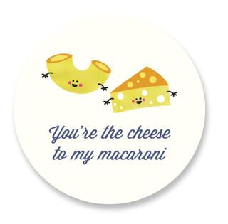 Mac and Cheese Custom Stickers