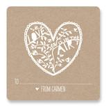 Paper Cut Tag by Jen