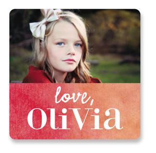 Ombre Love Custom Stickers