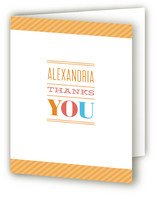 The Big One Children's Birthday Party Thank You Cards