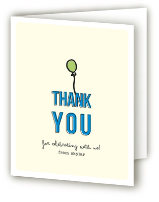 Clowning Around Children's Birthday Party Thank You Cards