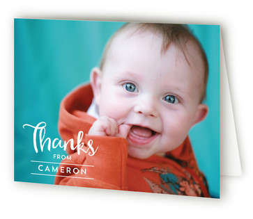 A Party Hat Children's Birthday Party Thank You Cards