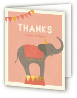 The Sweetest Circus On Earth! Children's Birthday Party Thank You Cards