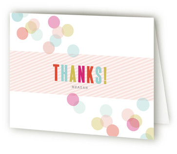 Confection Children's Birthday Party Thank You Cards