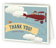 Come Fly Away Children's Birthday Party Thank You Cards
