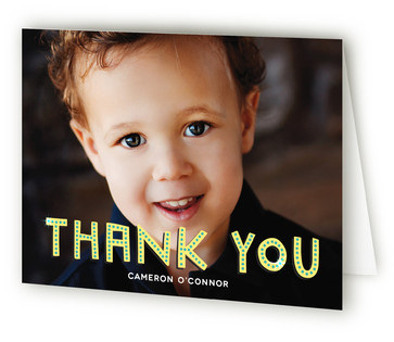 Billboard Children's Birthday Party Thank You Cards