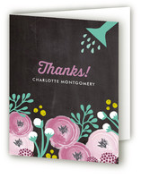 Blooming Garden Party Children's Birthday Party Thank You Cards