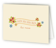 Secret Garden Children's Birthday Party Thank You Cards