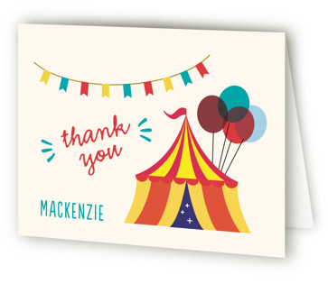 Fritelle Children's Birthday Party Thank You Cards
