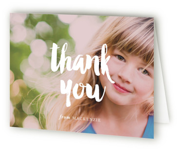 Modern Birthday Children's Birthday Party Thank You Cards