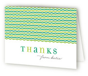Pinwheel Childrens Birthday Party Thank You Cards
