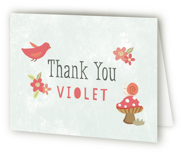 Foresta Children's Birthday Party Thank You Cards