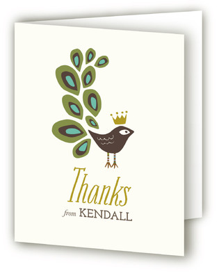fanfare Children's Birthday Party Thank You Cards