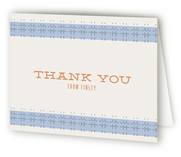 Gentleman Bear Childrens Birthday Party Thank You Cards