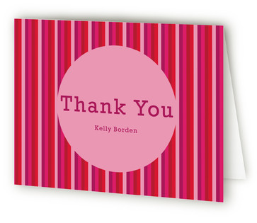 Tulipa Children's Birthday Party Thank You Cards