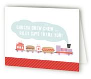 Chugga Chew Chew Childrens Birthday Party Thank You Cards